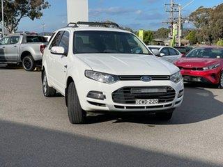 2014 Ford Territory Titanium White Sports Automatic Wagon.