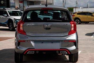 2021 Kia Picanto JA MY21 GT-Line Grey 4 Speed Automatic Hatchback.