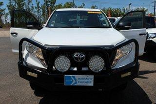 2016 Toyota Landcruiser Prado GDJ150R GX White 6 Speed Sports Automatic Wagon.