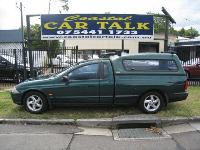 Used Ford Falcon AUII XLS Nambour, 2001 Ford Falcon AUII XLS Green 4 Speed Automatic Utility