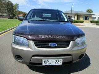 2007 Ford Territory SY TS (RWD) Grey 4 Speed Auto Seq Sportshift Wagon