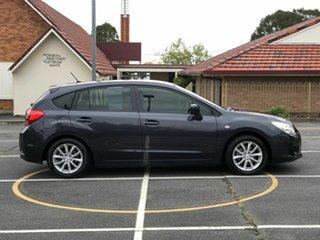2014 Subaru Impreza G4 MY14 2.0i Lineartronic AWD Grey 6 Speed Constant Variable Hatchback.