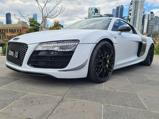 2014 Audi R8 MY14 Plus S Tronic Quattro White 7 Speed Sports Automatic Dual Clutch Coupe