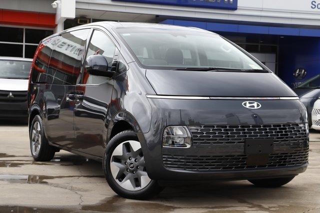 New Hyundai Staria US4.V1 MY22 2WD Beaudesert, 2021 Hyundai Staria US4.V1 MY22 2WD Graphite Gray 8 Speed Sports Automatic Wagon