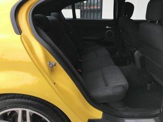 2011 Holden Commodore VE II SV6 Yellow 6 Speed Sports Automatic Sedan
