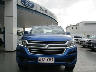 2019 Holden Colorado RG MY19 LS (4x4) (5Yr) Blue 6 Speed Automatic Crew Cab Chassis