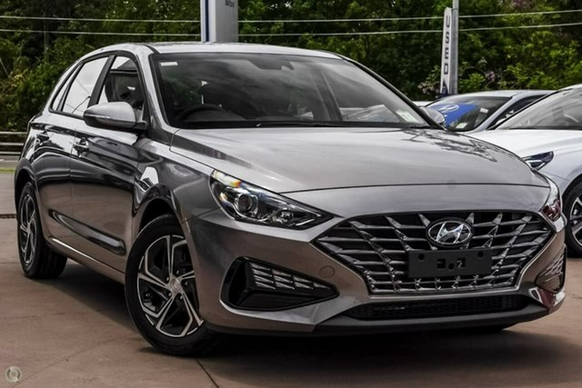 New Hyundai i30 PD.V4 MY21 Oakleigh, 2021 Hyundai i30 PD.V4 MY21 Silver 6 Speed Sports Automatic Hatchback