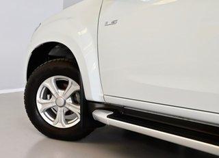 2018 Isuzu D-MAX MY18 LS-U Crew Cab 4x2 High Ride White 6 Speed Sports Automatic Utility