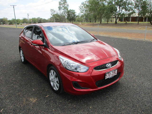 Pre-Owned Hyundai Accent RB6 MY19 Sport Roma, 2019 Hyundai Accent RB6 MY19 Sport Red 6 Speed Automatic Hatchback