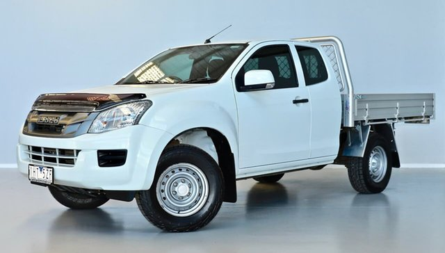 Used Isuzu D-MAX MY15 SX Space Cab 4x2 High Ride Thomastown, 2016 Isuzu D-MAX MY15 SX Space Cab 4x2 High Ride White 5 Speed Sports Automatic Utility