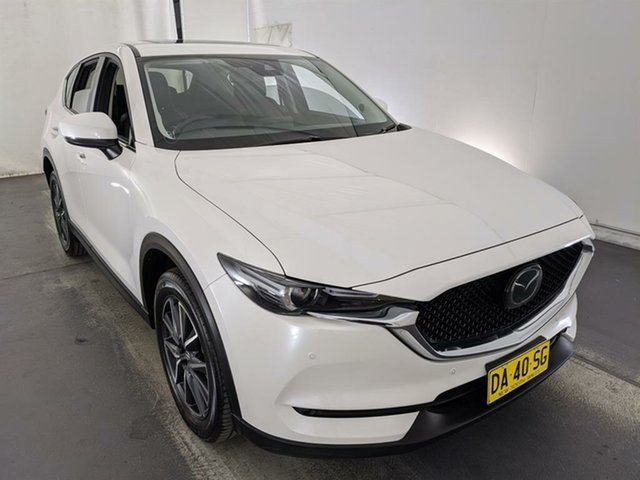 Used Mazda CX-5 KF4W2A Akera SKYACTIV-Drive i-ACTIV AWD Maryville, 2018 Mazda CX-5 KF4W2A Akera SKYACTIV-Drive i-ACTIV AWD White 6 Speed Sports Automatic Wagon