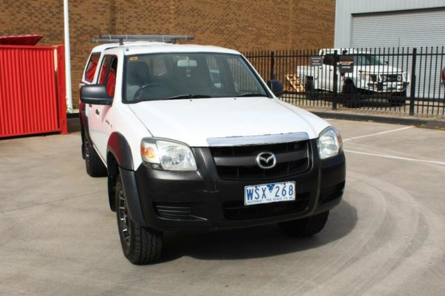 Used Mazda BT-50 B3000 DX Hoppers Crossing, 2008 Mazda BT-50 B3000 DX White 5 Speed Manual Dual Cab Pick-up
