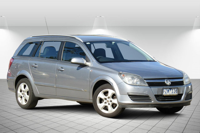 Used Holden Astra AH MY06 CDX Oakleigh South, 2005 Holden Astra AH MY06 CDX Active Grey 4 Speed Automatic Wagon