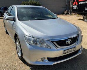2012 Toyota Aurion Silver Sedan.