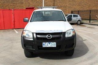 2008 Mazda BT-50 B3000 DX White 5 Speed Manual Dual Cab Pick-up.
