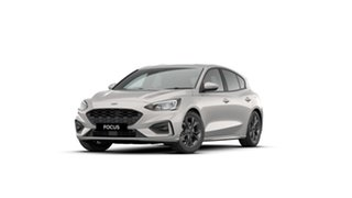 2021 Ford Focus SA 2021MY ST-Line Metropolis White 8 Speed Automatic Hatchback.