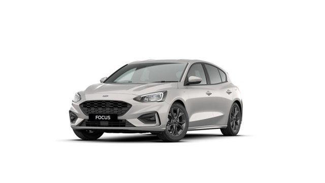 New Ford Focus SA 2021MY ST-Line Homebush, 2021 Ford Focus SA 2021MY ST-Line Metropolis White 8 Speed Automatic Hatchback