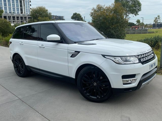 Used Land Rover Range Rover Sport L494 16MY HSE South Melbourne, 2015 Land Rover Range Rover Sport L494 16MY HSE White 8 Speed Sports Automatic Wagon