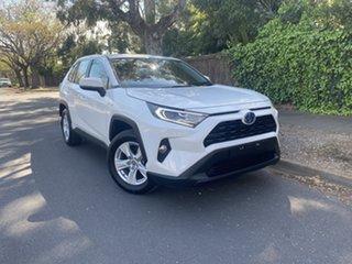 2019 Toyota RAV4 Axah52R GX 2WD White 6 Speed Constant Variable Wagon Hybrid.