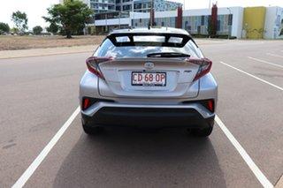 2019 Toyota C-HR NGX10R Koba S-CVT 2WD Shadow Platinum & Black Roof 7 Speed Automatic Wagon.
