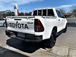 2016 Toyota Hilux GUN126R SR Double Cab Glacier White 6 Speed Sports Automatic Utility