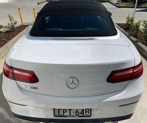 2017 Mercedes-Benz E-Class A238 E300 9G-Tronic PLUS Polar White 9 Speed Sports Automatic Cabriolet