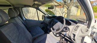 2013 Renault Trafic X83 Phase 3 Low Roof LWB White (black Wrap)/ 6 Speed Manual Van