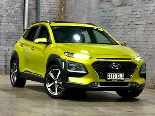 2019 Hyundai Kona OS.3 MY20 Highlander 2WD Green 6 Speed Sports Automatic Wagon.