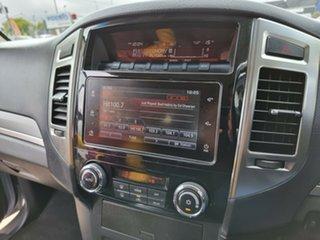 2017 Mitsubishi Pajero NX MY17 GLS Silver 5 Speed Sports Automatic Wagon