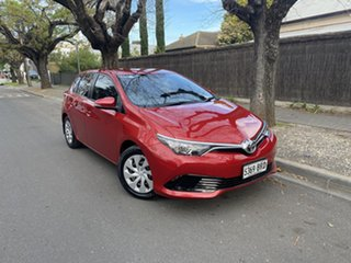 2017 Toyota Corolla ZRE182R Ascent S-CVT Wildfire 7 Speed Constant Variable Hatchback.