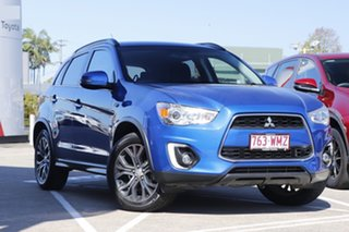 2015 Mitsubishi ASX XB MY15.5 LS 2WD Blue 6 Speed Constant Variable Wagon.