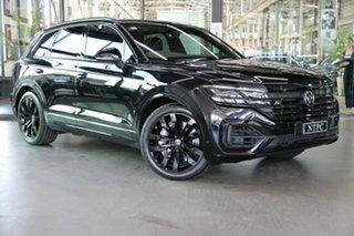 2021 Volkswagen Touareg CR MY21 V8 TDI Tiptronic 4MOTION Wolfsburg Edition Black 8 Speed.