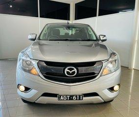 2015 Mazda BT-50 UR0YF1 XTR Silver, Chrome 6 Speed Sports Automatic Utility.