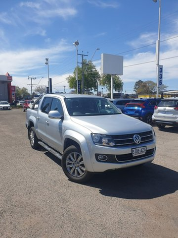 Used Volkswagen Amarok 2H MY13 TDI420 4Motion Perm Highline Hillcrest, 2013 Volkswagen Amarok 2H MY13 TDI420 4Motion Perm Highline Silver 8 Speed Automatic Utility