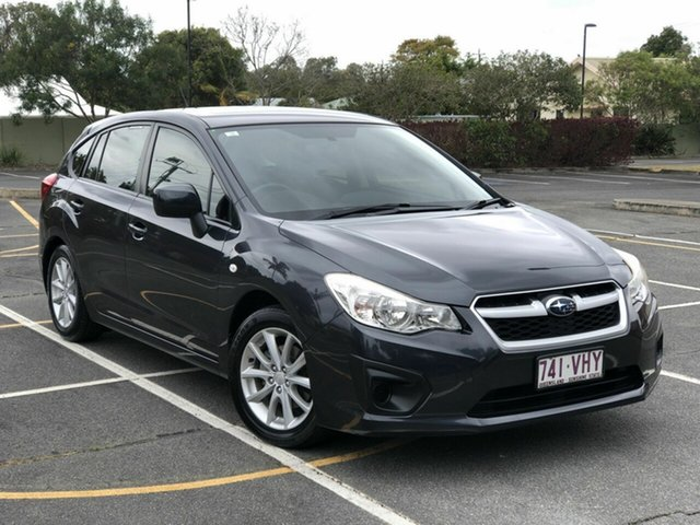 Used Subaru Impreza G4 MY14 2.0i Lineartronic AWD Chermside, 2014 Subaru Impreza G4 MY14 2.0i Lineartronic AWD Grey 6 Speed Constant Variable Hatchback