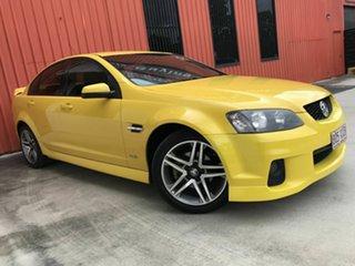 2011 Holden Commodore VE II SV6 Yellow 6 Speed Sports Automatic Sedan.