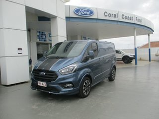 2020 Ford Transit Custom VN MY21 320S Sport (SWB) Blue 6 Speed Automatic Van.