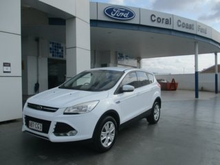 2013 Ford Kuga TF Ambiente (FWD) White 6 Speed Manual Wagon.
