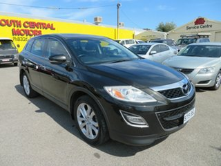 2010 Mazda CX-9 10 Upgrade Luxury Black 6 Speed Auto Activematic Wagon.