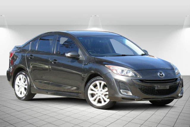 Used Mazda 3 BL10L1 MY10 SP25 Oakleigh South, 2010 Mazda 3 BL10L1 MY10 SP25 Active Grey 6 Speed Manual Sedan