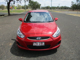 2019 Hyundai Accent RB6 MY19 Sport Red 6 Speed Automatic Hatchback