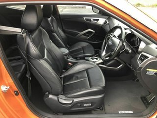 2013 Hyundai Veloster FS3 + Coupe D-CT Orange 6 Speed Sports Automatic Dual Clutch Hatchback
