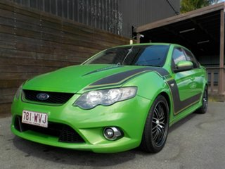 2009 Ford Falcon FG XR6 Green 5 Speed Sports Automatic Sedan