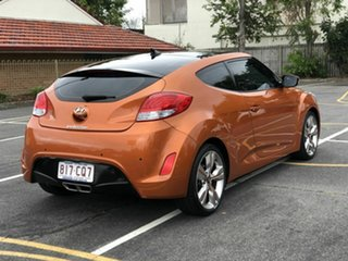2013 Hyundai Veloster FS3 + Coupe D-CT Orange 6 Speed Sports Automatic Dual Clutch Hatchback.