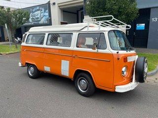 1973 Volkswagen Transporter Kombi Type 2 Orange 3 Speed Automatic Van.