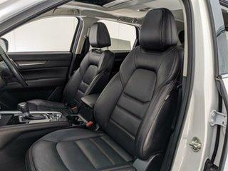 2018 Mazda CX-5 KF4W2A Akera SKYACTIV-Drive i-ACTIV AWD White 6 Speed Sports Automatic Wagon