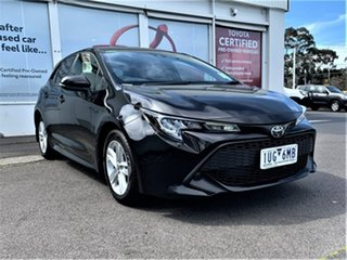 2021 Toyota Corolla Mzea12R Ascent Sport Eclipse Black 10 Speed Constant Variable Hatchback.