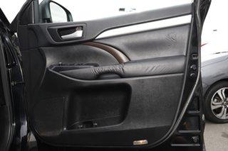 2015 Toyota Kluger GSU55R GXL AWD Black 6 Speed Sports Automatic Wagon