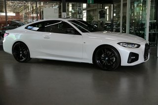 2021 BMW 4 Series G22 420i Steptronic M Sport White 8 Speed Sports Automatic Coupe