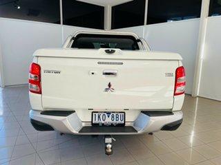 2017 Mitsubishi Triton MQ MY17 Exceed Double Cab White 5 Speed Sports Automatic Utility.